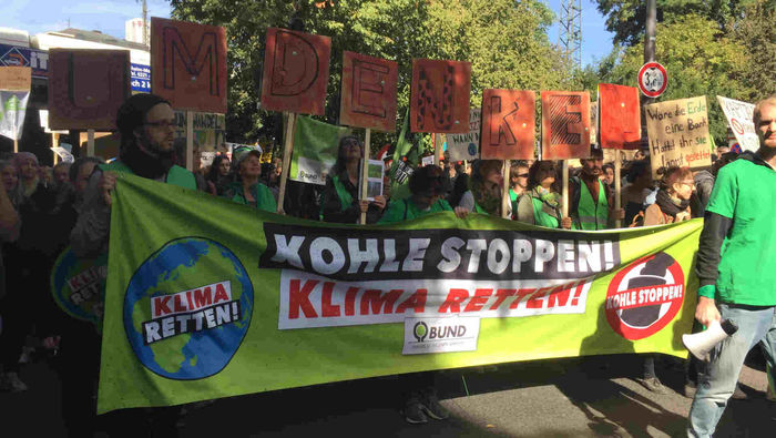 Klima Demo Köln 2019