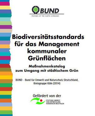 Massnahmenkatalog Biodiversitaet staedtisches Gruen