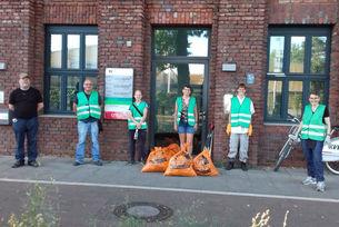 20-07 Müllsammelaktion Dillenburgerstraße Kalk